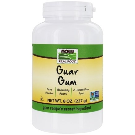 NOW Foods - Guar Gum Powder - 8 oz.