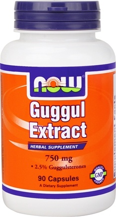 DROPPED: NOW Foods - Guggul Extract 750 mg. - 90 Capsules