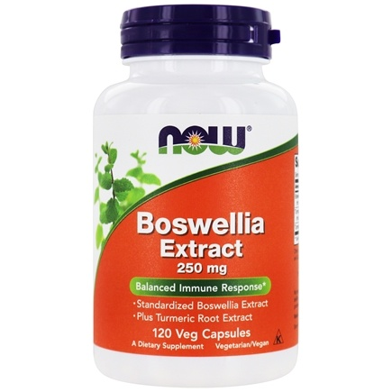 DROPPED: NOW Foods - Boswellin with Curcumin Extract - 120 Capsules