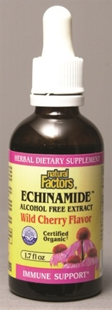 DROPPED: Natural Factors - Echinacea Extract Cherry