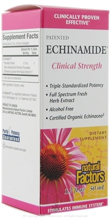 DROPPED: Natural Factors - Echinamide Clinical Strength 50 ml - 1.7 oz.