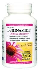 DROPPED: Natural Factors - Echinamide Fresh Extract Clinical Strength - 60 Softgels