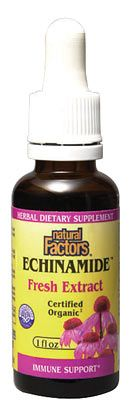 DROPPED: Natural Factors - Echinamide Fresh Herb Extract - 1 oz.