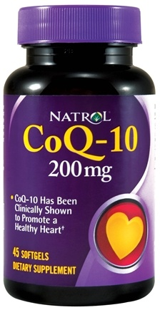 DROPPED: Natrol - CoQ-10 200 mg. - 45 Softgels