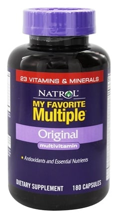 Natrol - My Favorite Multiple Original Multivitamin - 180 Capsules