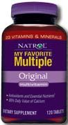 DROPPED: Natrol - My Favorite Multiple-30 Days - 120 Tablets CLEARANCE PRICED