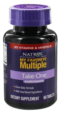 DROPPED: Natrol - My Favorite Take One Multiple - 60 Tablets
