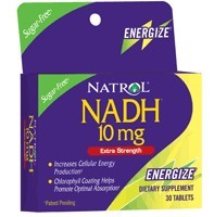 DROPPED: Natrol - NADH 10 mg. - 30 Tablets CLEARANCE PRICED