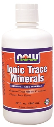 DROPPED: NOW Foods - Ionic Trace Minerals Vegetarian - 32 oz.
