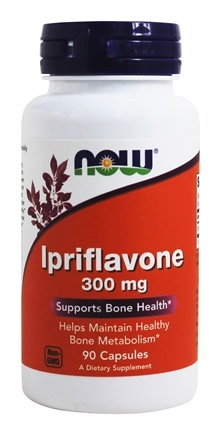 NOW Foods - Ipriflavone 300 mg. - 90 Capsules