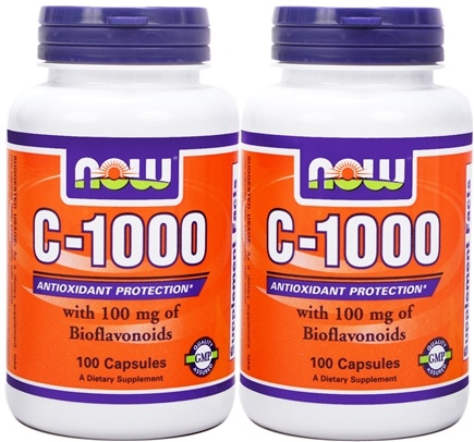 DROPPED: NOW Foods - C-1000 (100+100) Twin Pack Special - 200 Capsules