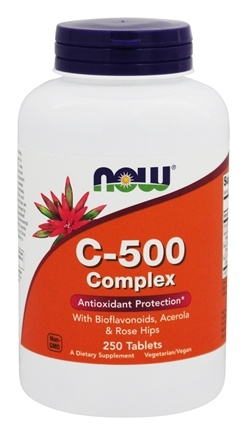 NOW Foods - C-500 Complex - 250 Tablets