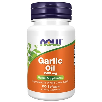 NOW Foods - Garlic Oil 1500 mg. - 100 Softgels