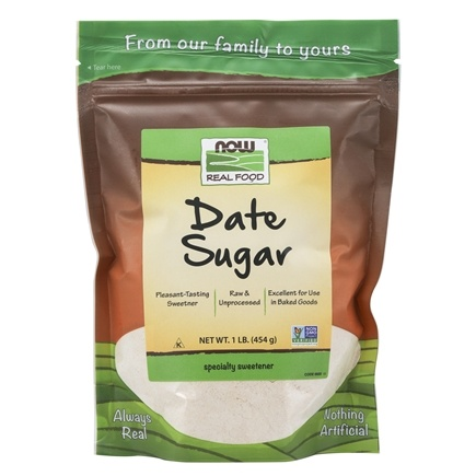 NOW Foods - Date Sugar - 1 lb.