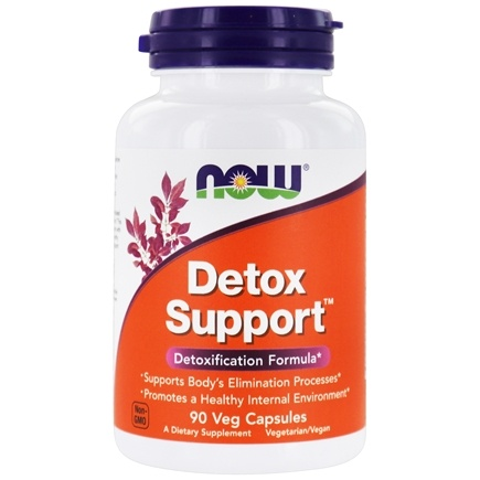 DROPPED: NOW Foods - Detox Support - 90 Capsules