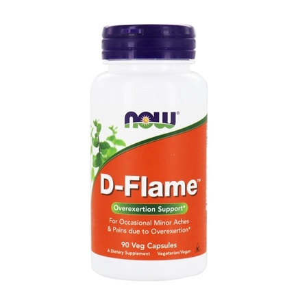 NOW Foods - D-Flame - 90 Vegetarian Capsules