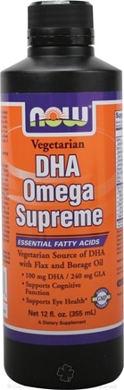 DROPPED: NOW Foods - DHA Omega Supreme - 12 oz.
