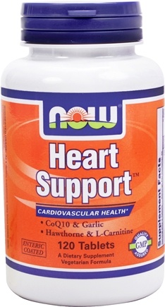 DROPPED: NOW Foods - Heart Support - 120 Tablets