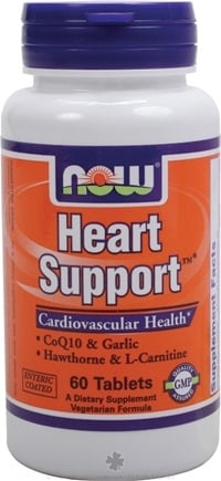 DROPPED: NOW Foods - Heart Support - 60 Tablets
