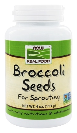 NOW Foods - Broccoli Seeds - 4 oz.