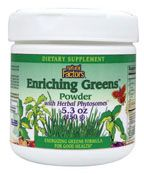 DROPPED: Natural Factors - Enriching Greens Powder with Phytosomes - 5.3 oz.