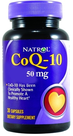 DROPPED: Natrol - CoQ-10 50 mg. - 30 Capsules