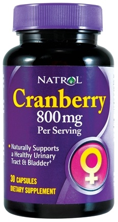 DROPPED: Natrol - Cranberry 400 mg. - 30 Capsules CLEARANCE PRICED