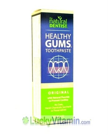 DROPPED: Natural Dentist - Herbal Toothpaste & Gum Therapy Mint - 4