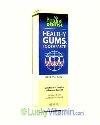 DROPPED: Natural Dentist - Whitening Plus Herbal Toothpaste - 4 oz.