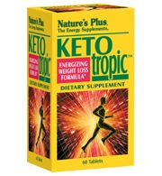 DROPPED: Nature's Plus - Ketotropic Tablets - 60 Tablets