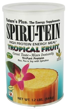 DROPPED: Nature's Plus - Spiru-Tein High Protein Energy Meal Tropical Fruit - 1.2 lbs.