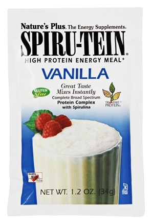 Nature's Plus - Spiru-Tein High Protein Energy Meal Vanilla - 1 Packet