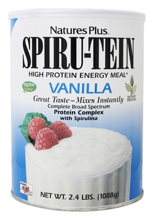 Nature's Plus - Spiru-Tein High Protein Energy Meal Vanilla - 2.4 lbs.