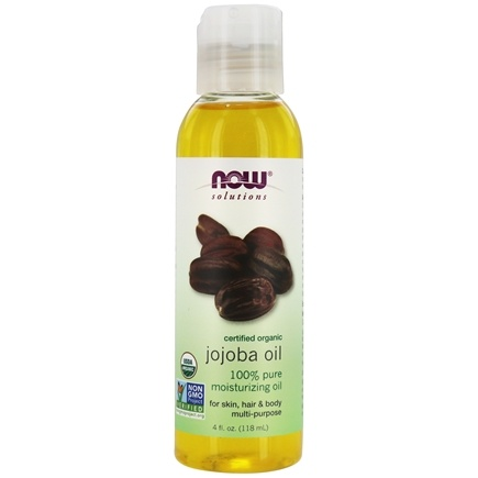 NOW Foods - Jojoba Oil Certified Organic - 4 oz.