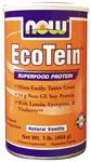 DROPPED: NOW Foods - EcoTein Superfood Soy Protein Vanilla - 1 lb.
