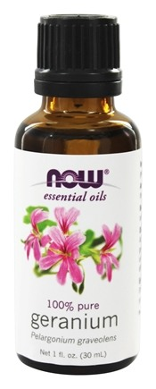 NOW Foods - Geranium Oil Egyptian - 1 oz.