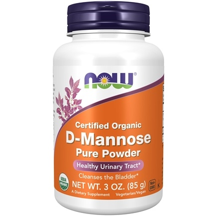 NOW Foods - D-Mannose Powder - 3 oz. LUCKYDEAL