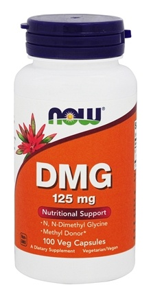 NOW Foods - DMG 125 mg. - 100 Capsules