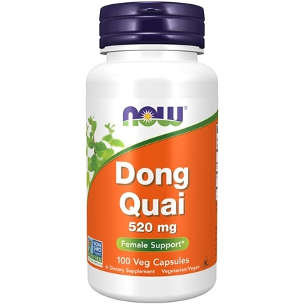 NOW Foods - Dong Quai 520 mg. - 100 Capsules