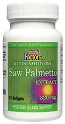 DROPPED: Natural Factors - Saw Palmetto