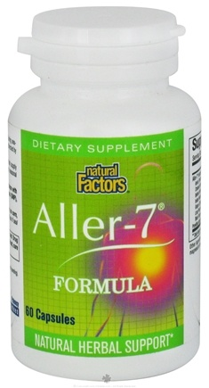 DROPPED: Natural Factors - Aller-7 Formula - 60 Capsules