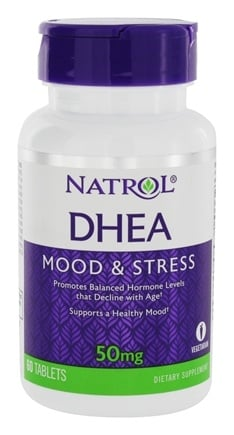 Natrol - DHEA 50 mg. - 60 Tablets
