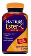DROPPED: Natrol - Ester C with Bioflavonoids 1000 mg. - 90 Capsules