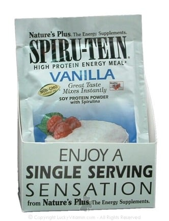DROPPED: Nature's Plus - Spiru-Tein Vanilla