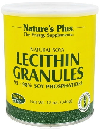 DROPPED: Nature's Plus - Lecithin Granules - 12 oz. CLEARANCE PRICED