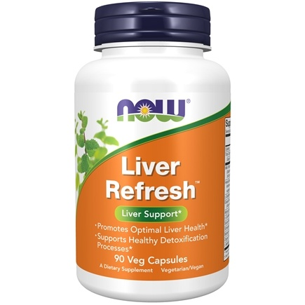 NOW Foods - Liver Detoxifier and Regenerator - 90 Capsules