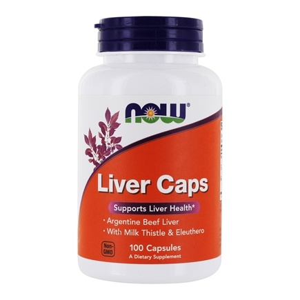 NOW Foods - Liver Extract Caps - 100 Capsules