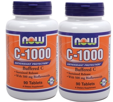DROPPED: NOW Foods - C-1000 Complex Twin Pack Special - 180 Tablets