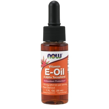 NOW Foods - Natural E-Oil Antioxidant Protection 23000 IU - 1 oz.