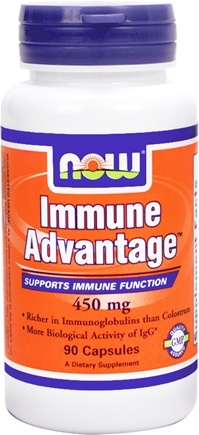 DROPPED: NOW Foods - Immune Advantage 450 mg. - 90 Capsules